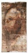 Emotions- Self Portrait Bath Towel