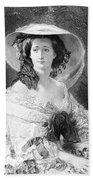 Empress Eugenie Of France Bath Towel