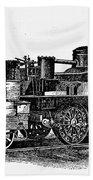 England: Locomotive, C1831 Bath Towel
