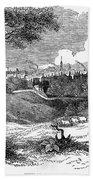 England: Manchester, 1842 Bath Towel