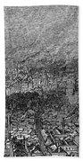 England: Manchester, 1876 Bath Towel