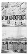 England: Railroad Travel Bath Towel
