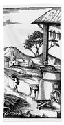 England: Water Mill Bath Towel