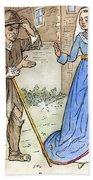 English Beggar, 1330 Bath Towel