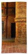 Entry To The Spanish Pavillion In Sevilla Spain Bath Towel