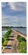 Erie Basin Marina Summer Series 0001 Bath Towel