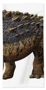 Euoplocephalus Tutus, A Prehistoric Era Bath Towel
