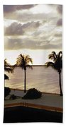 Evening In The Keys - Key Largo Bath Towel