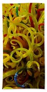 Extraordinary Chihuly Glass  Bath Towel