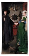 Eyck: Arnolfini Marriage Bath Towel