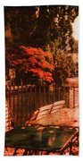 Fall In Lucerne Switzerland Hand Towel