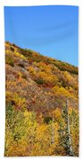Fall In The Mountains Bath Towel