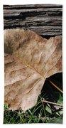 Fallen Leaf Bath Towel