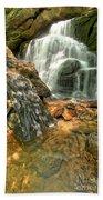 Falling Through The Rocks Bath Towel