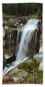 Falls At Newberry Bath Towel