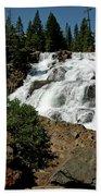 Falls In Site Glen Alpine Falls Bath Towel