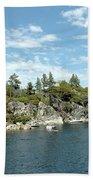 Fannette Island Boat Party Bath Towel