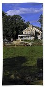 Farm Scene Bath Towel