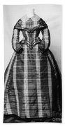 Fashion: Dress, C1865 Bath Towel