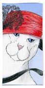 Feline Finery - Claudia Bath Towel