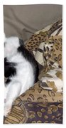 Felis Catus Bath Towel