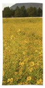 Field Of Yellow Daisy's Bath Towel