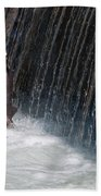 Fighting Upstream Bath Towel