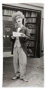 Film Still: Sleuths, 1919 Bath Towel
