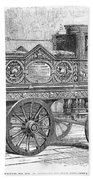 Fire Engine, 1862 Bath Towel