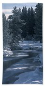 Firehole River In Yellowstone Bath Towel