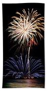 Fireworks  Abound Bath Towel