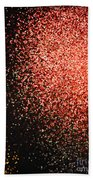 Fireworks Abstract  Bath Towel
