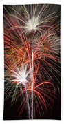 Fireworks Light Up The Night Hand Towel