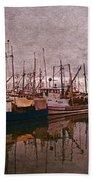 Fishing Boats Of Steveston-ca Bath Towel