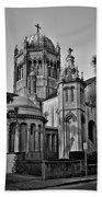 Flagler Memorial Presbyterian Church 3 - Bw Bath Towel