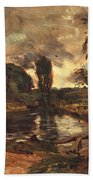 Flatford Mill From The Lock Hand Towel