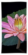 Floating Water Lily Bath Towel