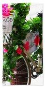 Floral Delivery Bath Towel