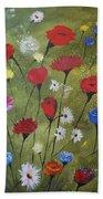 Floral Fields Bath Towel