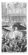 Florence: Horse Race, 1857 Bath Towel