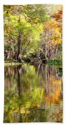 Florida Autumn Secret Bath Towel