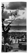 Florida: Miami Beach, 1927 Bath Towel