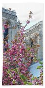 Flowering Notre Dame Bath Towel
