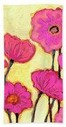 Flowers For Coralyn Bath Towel by Jennifer Lommers