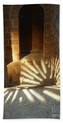 Follow The Light-stairs Hand Towel