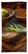 Food - Vegetable - Garden Variety Bath Towel