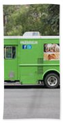 Food Trucks Bath Towel