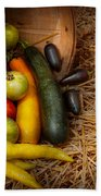 Food - Vegetables - Very Early Harvest Bath Towel