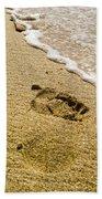 Footprint Bath Towel