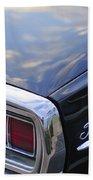 Ford Thunderbird Taillight Bath Towel
